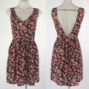 Timing Floral Mini Dress